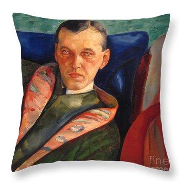 Korovin Alexander Throw Pillow