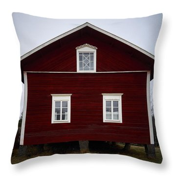 Kovero Main House Throw Pillow by Jouko Lehto