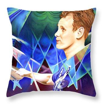 Kris Myers Throw Pillow by Joshua Morton