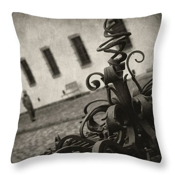 Krizem Krazem Throw Pillow by Taylan Apukovska