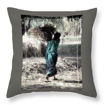 Kumari Throw Pillow