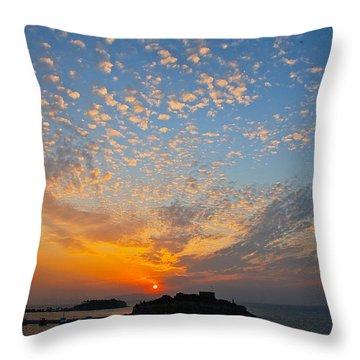 Kusadasi Sunset Throw Pillow