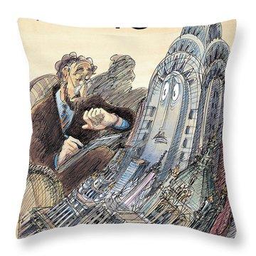 Kvetch City Throw Pillow