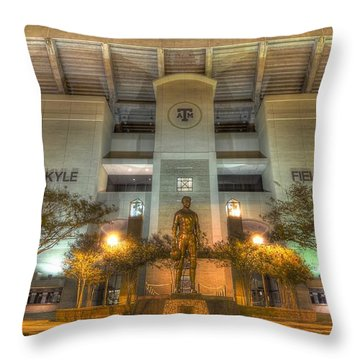 Kyle Field Throw Pillow