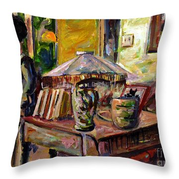 Dame Ting Aiku Wu Throw Pillow by Charlie Spear