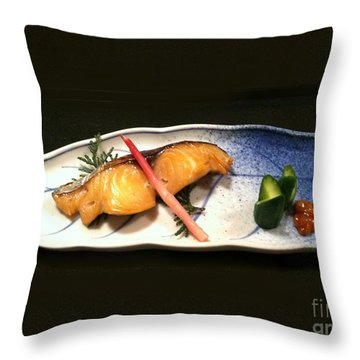 Throw Pillow featuring the photograph Kyoto Style by Carol Sweetwood