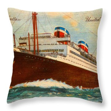 L. L. Manhattan Throw Pillow
