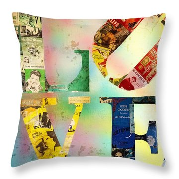 L O V E Throw Pillow