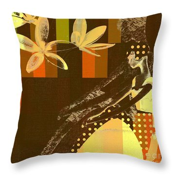 La Bella - 133 Throw Pillow by Variance Collections