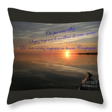 la Bonne Compagnie Throw Pillow
