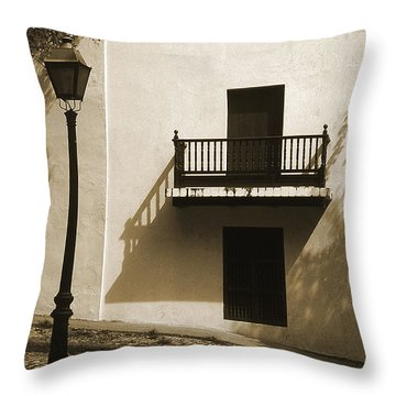 La Caleta Throw Pillow