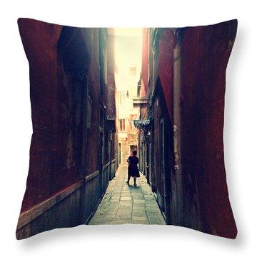La Cameriera  Throw Pillow by Micki Findlay