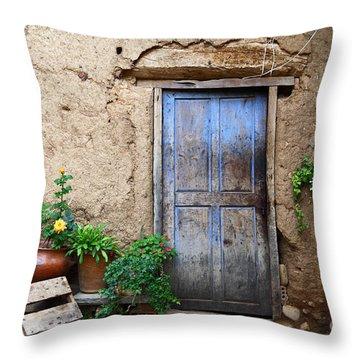 La Casa Vieja 1 Throw Pillow