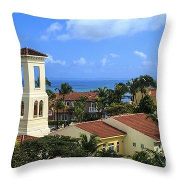 La Casitas Village Throw Pillow
