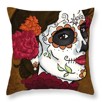 La Caterina Throw Pillow