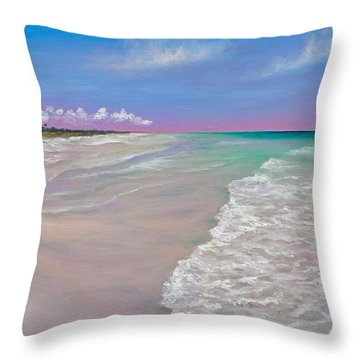 La Costa Throw Pillow by Eve  Wheeler