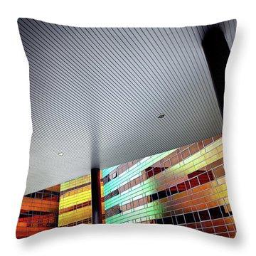 La Defense Throw Pillow by Dave Bowman