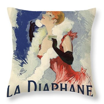 La Diaphane Throw Pillow