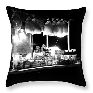 La Dolce Notte Throw Pillow