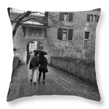 La Gruyere Throw Pillow