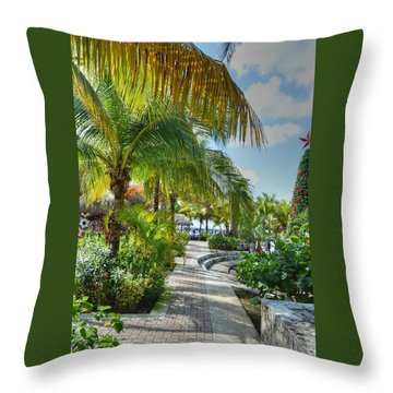 La Isla Bonita Throw Pillow