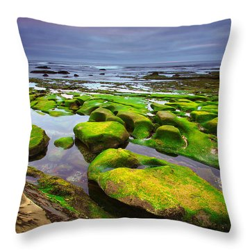 La Jolla California Throw Pillow