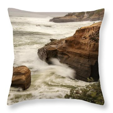 La Jolla Cove 1 Throw Pillow