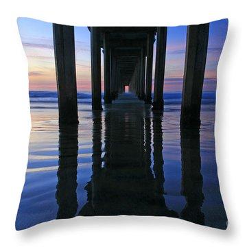 La Jolla Dream Light Throw Pillow