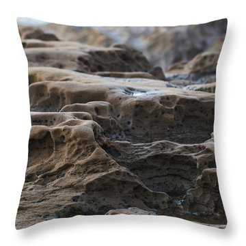 La Jolla Sandstone Throw Pillow