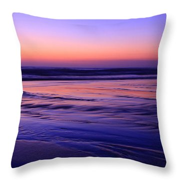 La Jolla Shores Twilight Throw Pillow