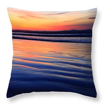 La Jolla Shores Throw Pillow