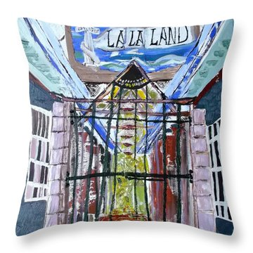 La La Land  Throw Pillow