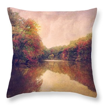 Throw Pillow featuring the photograph La Nature Splendeur by John Rivera