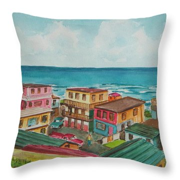 La Perla San Juan Pr Throw Pillow