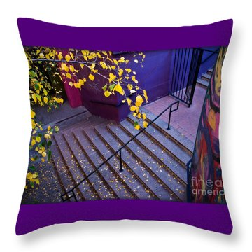 La Placita Village Throw Pillow