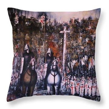 La Reconquista Throw Pillow