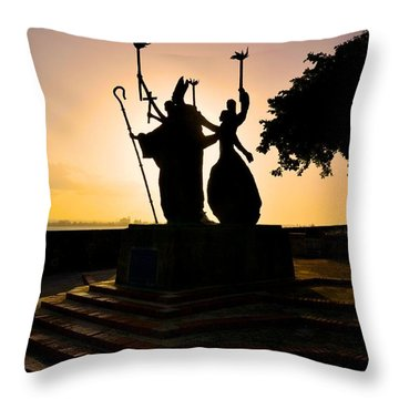 La Rogativa 1 Throw Pillow