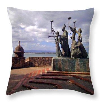 La Rogativa Throw Pillow