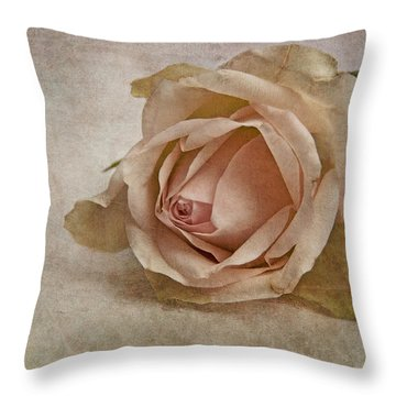 la vie en rose II Throw Pillow by Claudia Moeckel