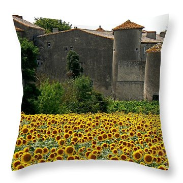 La Vie Est Belle Throw Pillow by France  Art