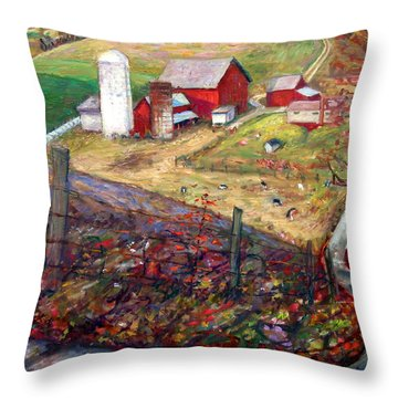 La020 Throw Pillow