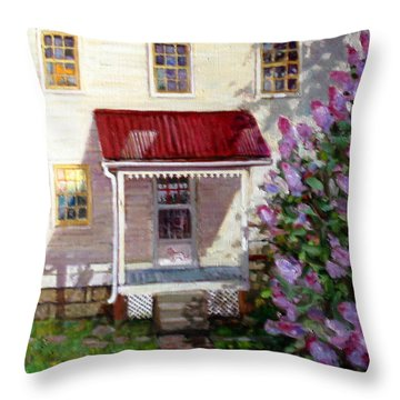 La027 Throw Pillow
