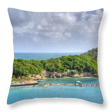 Labadee Throw Pillow