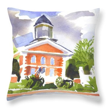 Labor Day Afternoon Throw Pillow by Kip DeVore