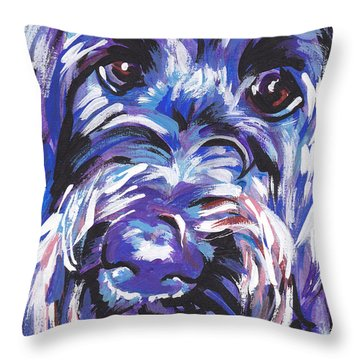 Labra Doodly Do Throw Pillow