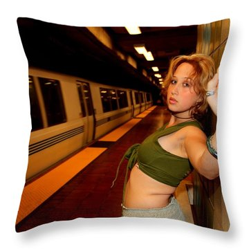 Throw Pillow featuring the photograph Labyrinth by Nick David