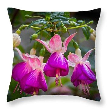 Ladies Dancing Throw Pillow
