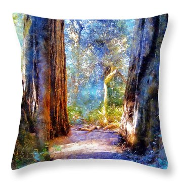 Lady Bird Johnson Grove Throw Pillow