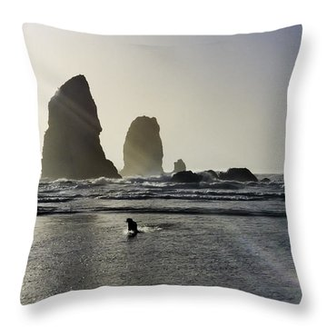 Lady Jessica Of The Great Northwest Throw Pillow