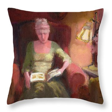 Lady Laura Throw Pillow